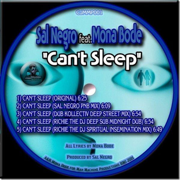 Sal Negro feat  Mona Bode - Can't Sleep (Inc  Sal Negro