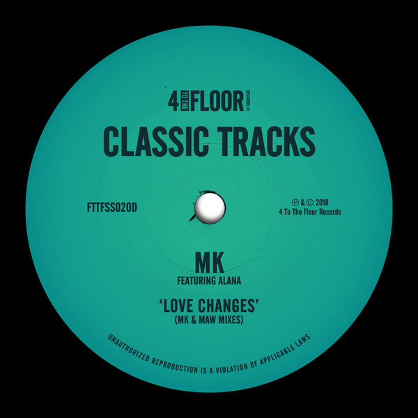 Mk Feat Alana Love Changes Mk Maw Mixes On Traxsource