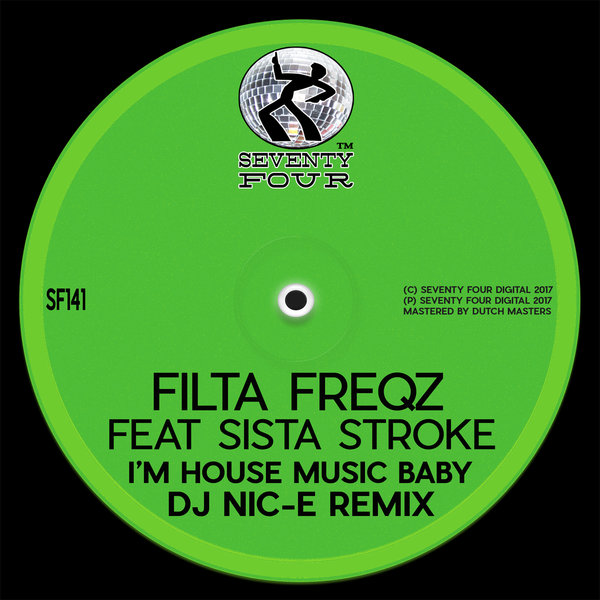 I 39 m house music baby nic e remix on traxsource for House music remix