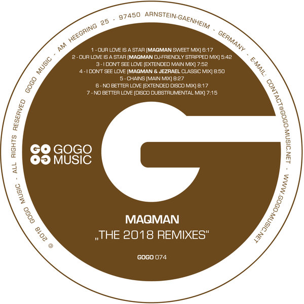 MAQman - The 2018 Remixes on Traxsource