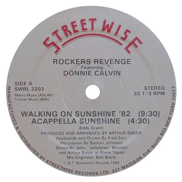 Rockers Revenge - Walking on Sunshine (feat  Donnie Calvin) on