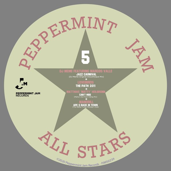 Various Artists – Peppermint Jam Allstars 5 [Peppermint Jam]