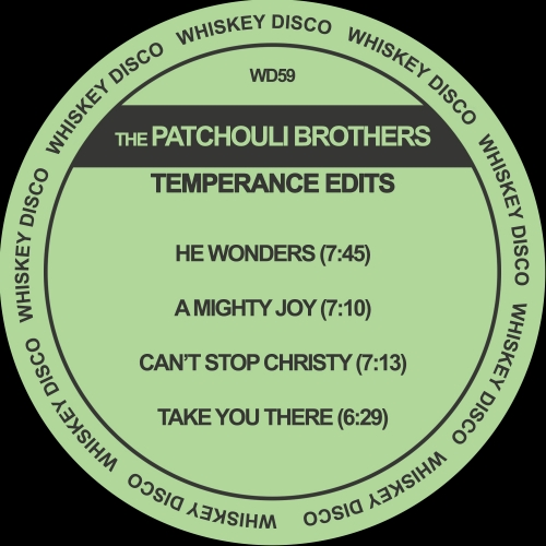 The Patchouli Brothers - Temperance Edits EP on Traxsource